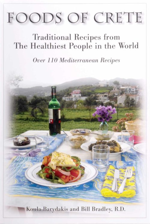 Foods of Crete: Traditional Recipes from the Healthiest People in the World Cook Book