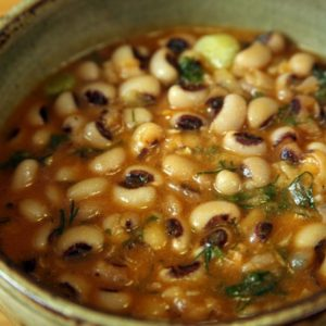 Black-Eyed-Beans-with-Herbs
