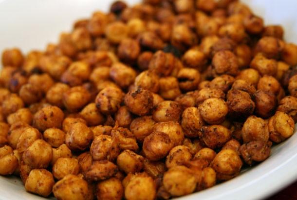 Crunchy Spicy Chickpeas - Mediterranean Living