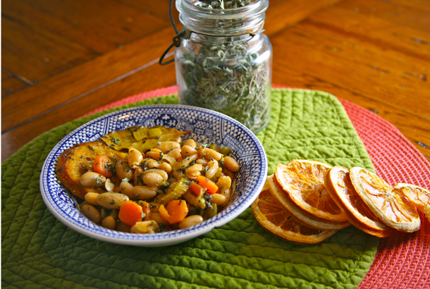 Mediterranean Diet Recipes: White Bean Soup Fasolada