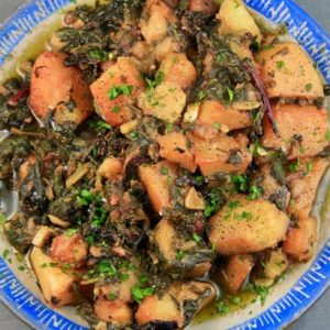 Horta (greens) with Potatoes