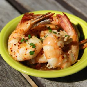 Mediterranean Diet Recipes: Pan Fried Shrimp