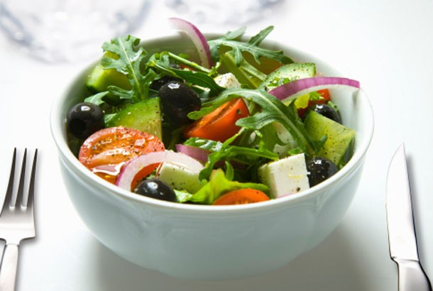 Almost Traditional Greek Salad