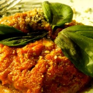 Mediterranean Diet Recipes: Italian Eggplant Parmesan