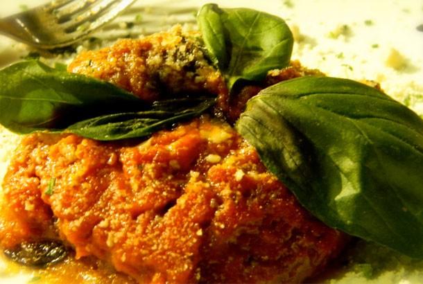 Mediterranean Diet Recipes: Italian Eggplant Parmesan (Gluten Free)