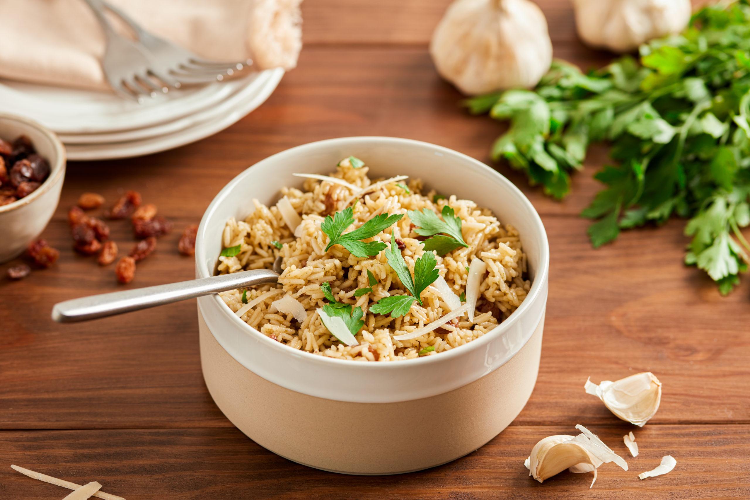 Italian Rice with Raisins (Riso coll' Uvetta)