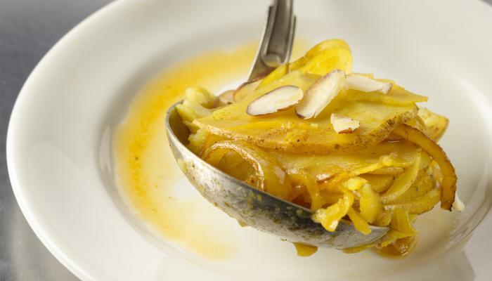 Terrific Almond Turmeric Potatoes