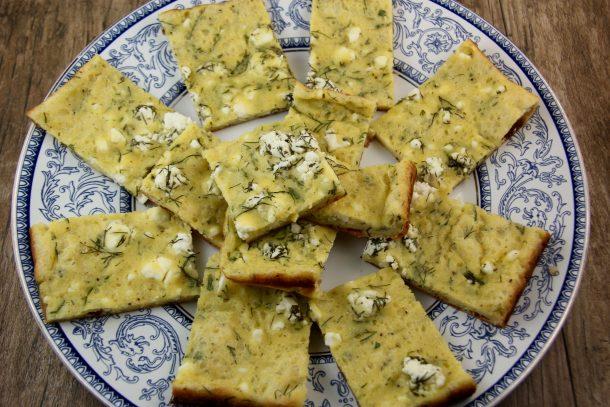 Feta Cheese Pancake (Tiganopita me Feta)