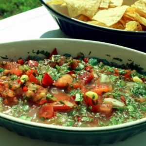 Cilantro Salsa with Jalapeño and Lime (Mediterranean Diet Recipes)