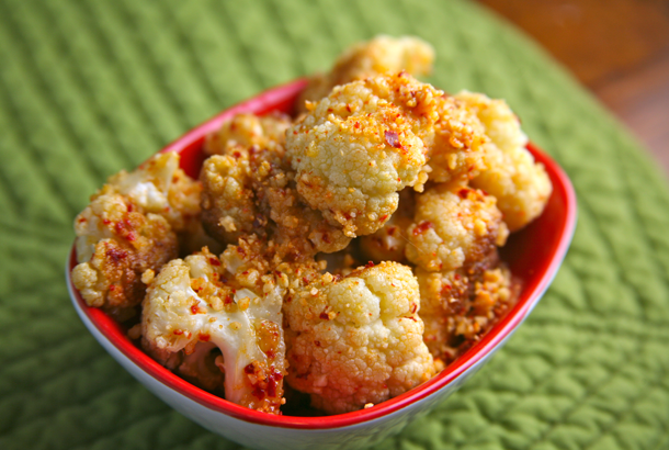 Cauliflower With Spicy Dukkah (Egyptian Almond Spice Blend) Videos/Recipes