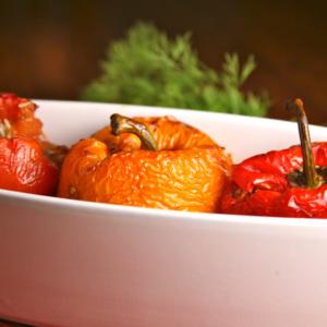 Mediterranean Diet Recipes: Greek Stuffed Peppers