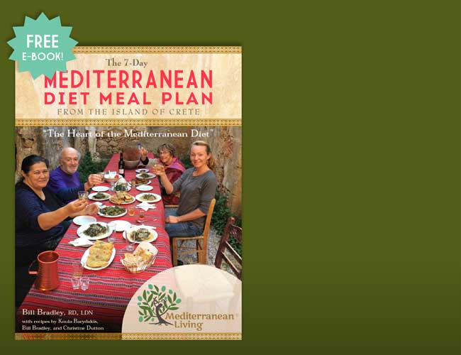 The 7 Day Mediterranean Diet Meal Plan E-Book