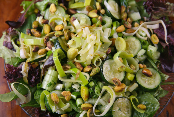Go Green Salad Mediterranean Living