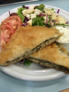 Spanakopita (Spinach Pie) from Olympic Gyro