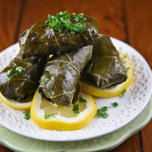 Stuffed Grape Leaves (with video)