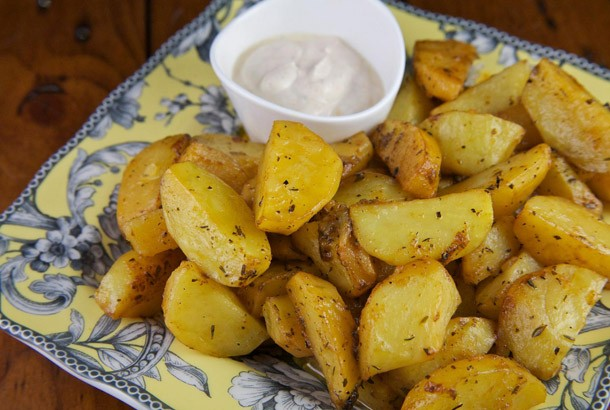 Creole Spiced Orange Potatoes