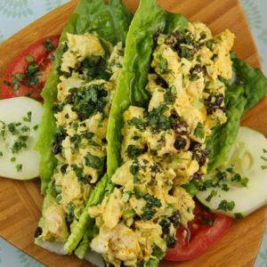 Curry Chicken Salad: Mediterranean Diet Recipes
