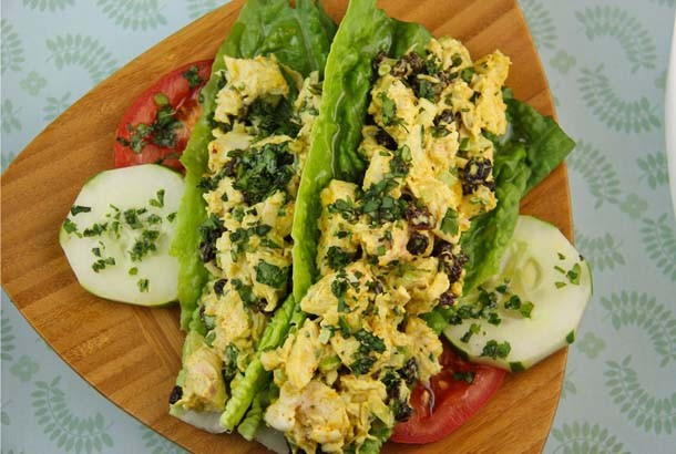 Curry Chicken Salad: Mediterranean Diet Recipes