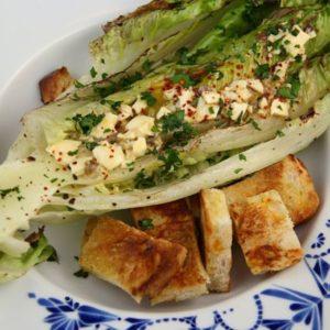 Grilled Caesar Salad Mediterranean Diet Recipe