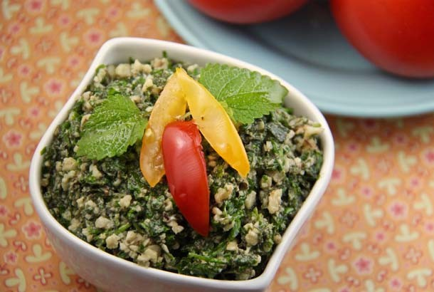 Lemon Balm Pesto-Mediterranean Diet Recipes