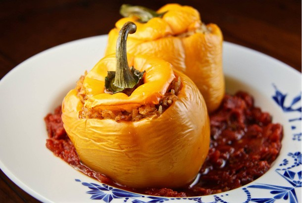 Stuffed Peppers for Mediterranean Diet