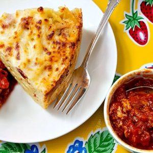 Mediterranean Diet: Bucatini Pie
