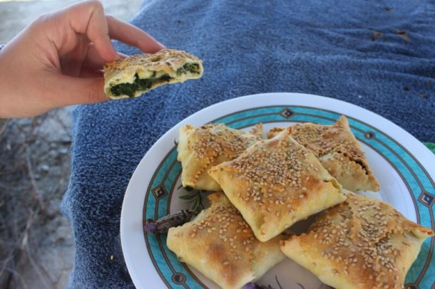 Cretan Pies for Mediterranean Diet