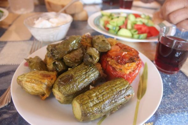Cretan Stuffed Vegetable for Mediterranean Diet