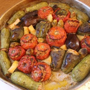 Stuffed Vegetables: Mediterranean Diet Recipes