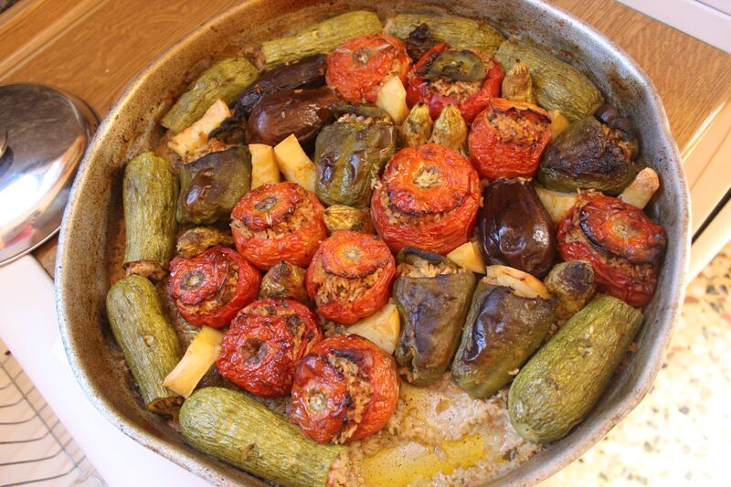 Stuffed Vegetables: Mediterranean Diet Recipes