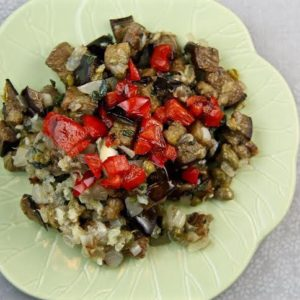 Eggplant Dip for Mediterranean Diet