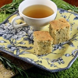Rosemary Olive Oil Teacakes