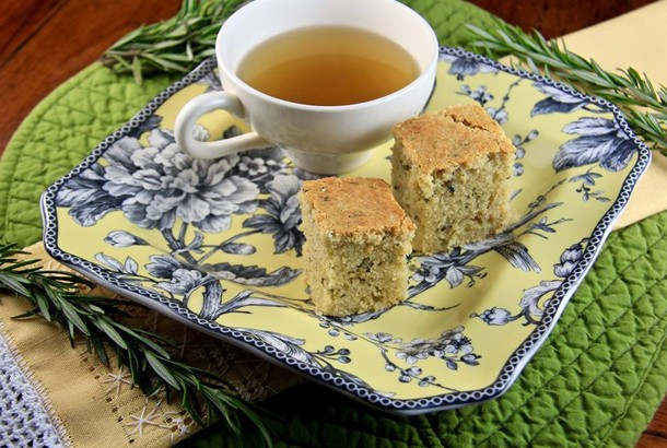 Rosemary Olive Oil Teacakes