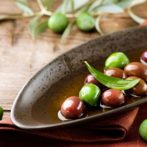 Olive Oil and Olives from Mediterranean
