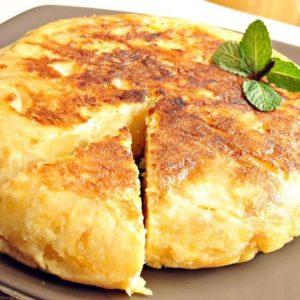 Tortilla Española (Potato Omelet - Spain)