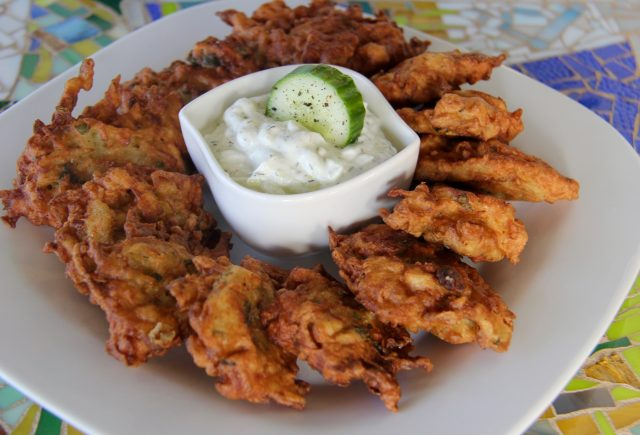 Greek Onion and Potato Fritters