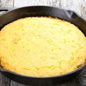 Mediterranean Diet Recipes: Savory Cornbread skillet cornbread