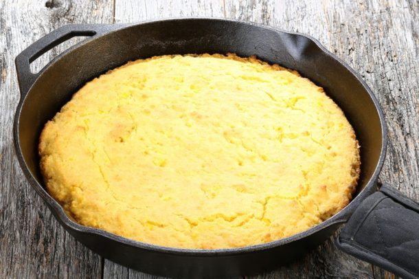 Mediterranean Diet Recipes: Savory Cornbread