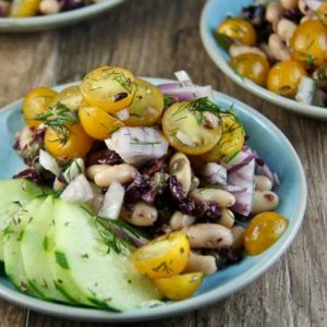 Olive Tapenade and White Bean Salad - Italy