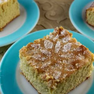 Olive Oil Cake with Lemon Zest (Greek island of Crete)