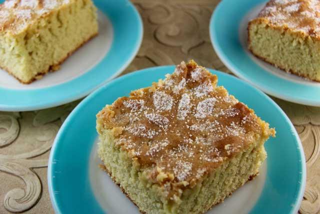 Mediterranean Diet: lemon olive oil cake