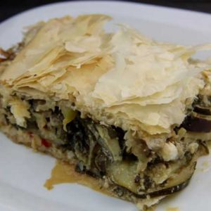 Vegetable Phyllo Pie (Island of Crete)