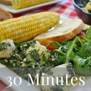30 Minute Mediterranean Diet Recipes