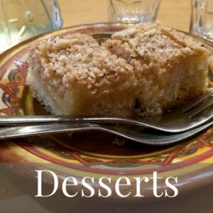 Mediterranean Diet Recipes Desserts