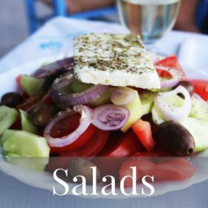 Mediterranean Diet Recipes Salads