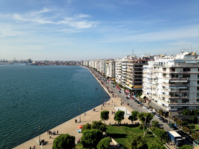 Mediterranean Culinary Travels: Thessaloniki Seaside
