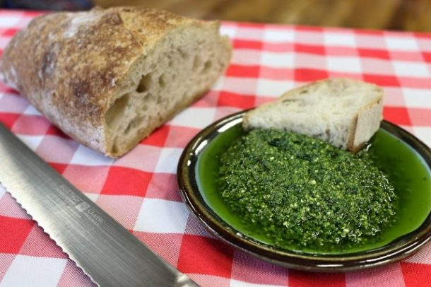 Mediterranean Diet Recipes: Vegan Pesto