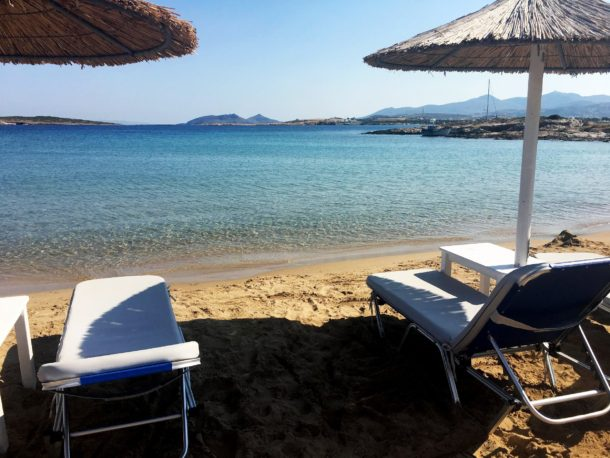 Beaches in Paros