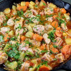 Mediterranean Diet Recipes: Turkish Tuna Stew