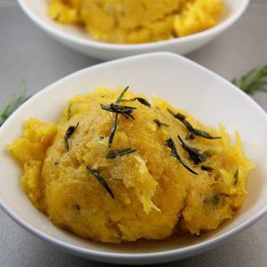Mediterranean Diet Recipes: Pumpkin with Rosemary